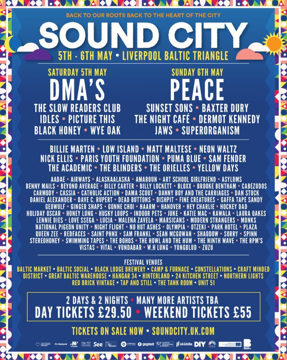 Sound City 2018 second wave acts