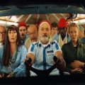 Bill Murray & cast in Wes Anderson's The Life Aquatic