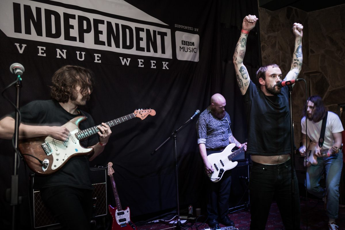 Idles at Liverpool's Studio 2 for Independent Venue Week