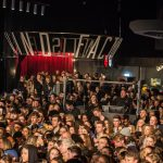 Jorja Smith's crowd at the Invisible Wind Factory