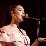 Jorja Smith at the Invisible Wind Factory