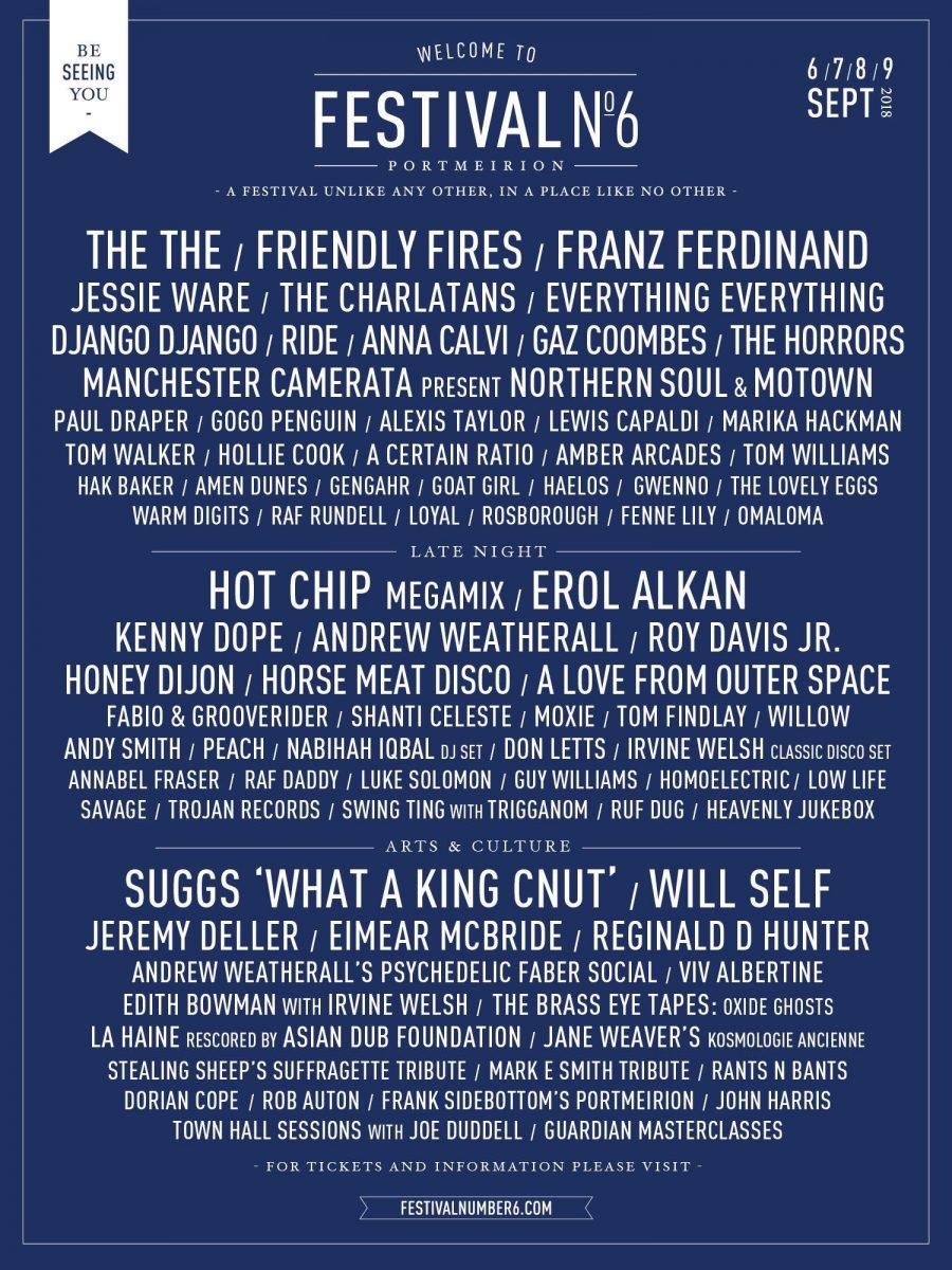Festival No. 6 2018