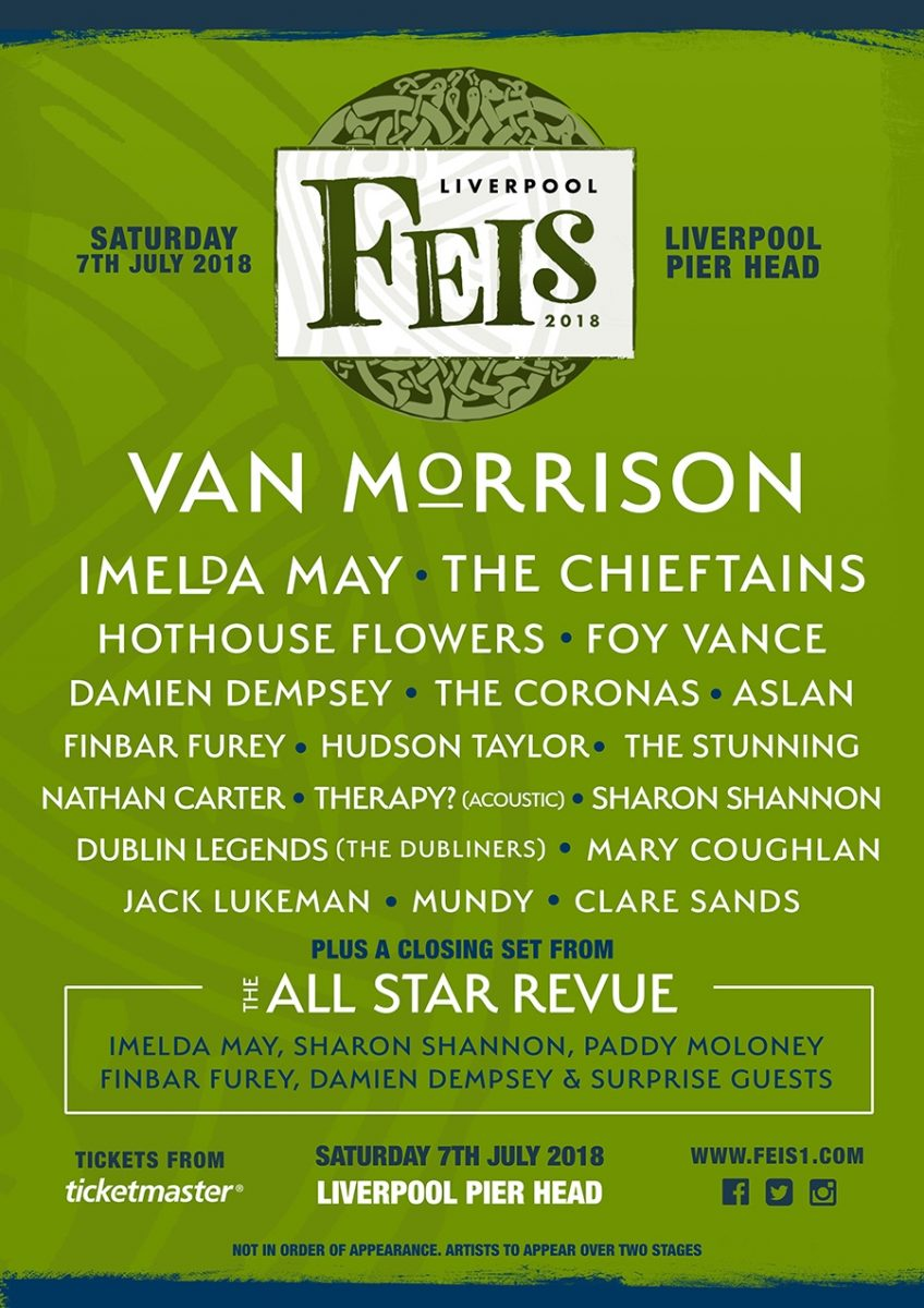 The Feis Liverpool Lineup