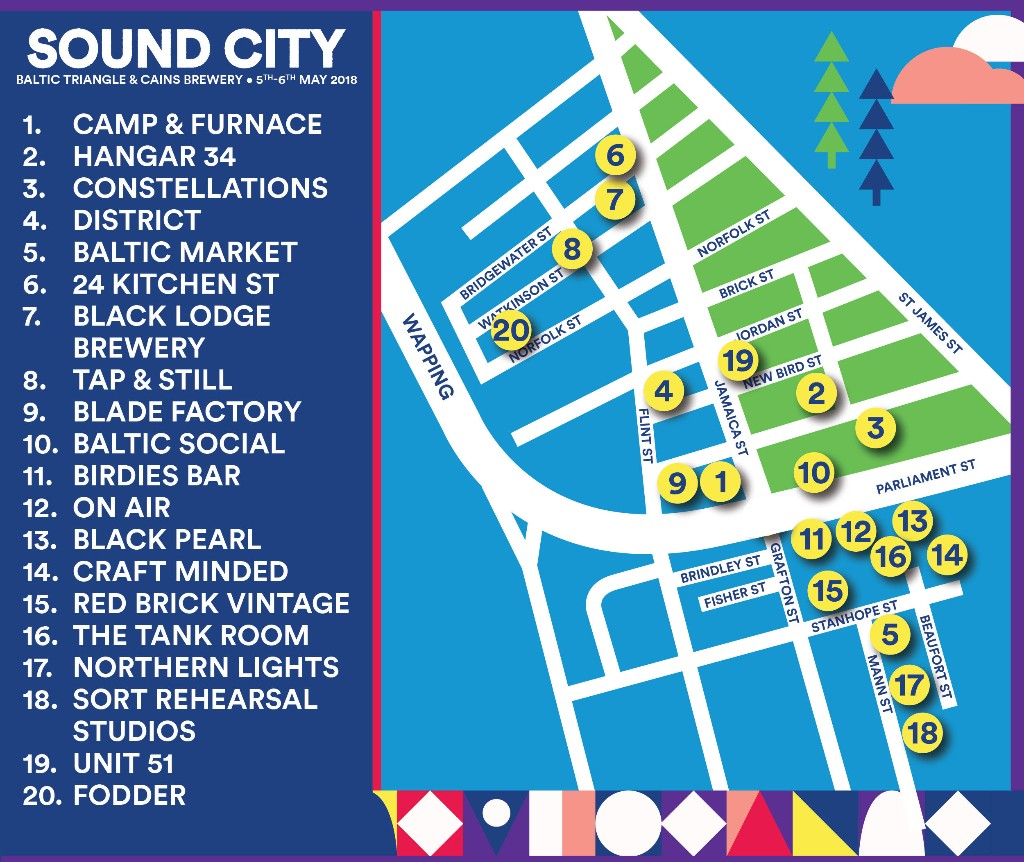Sound City 2018 venue guide