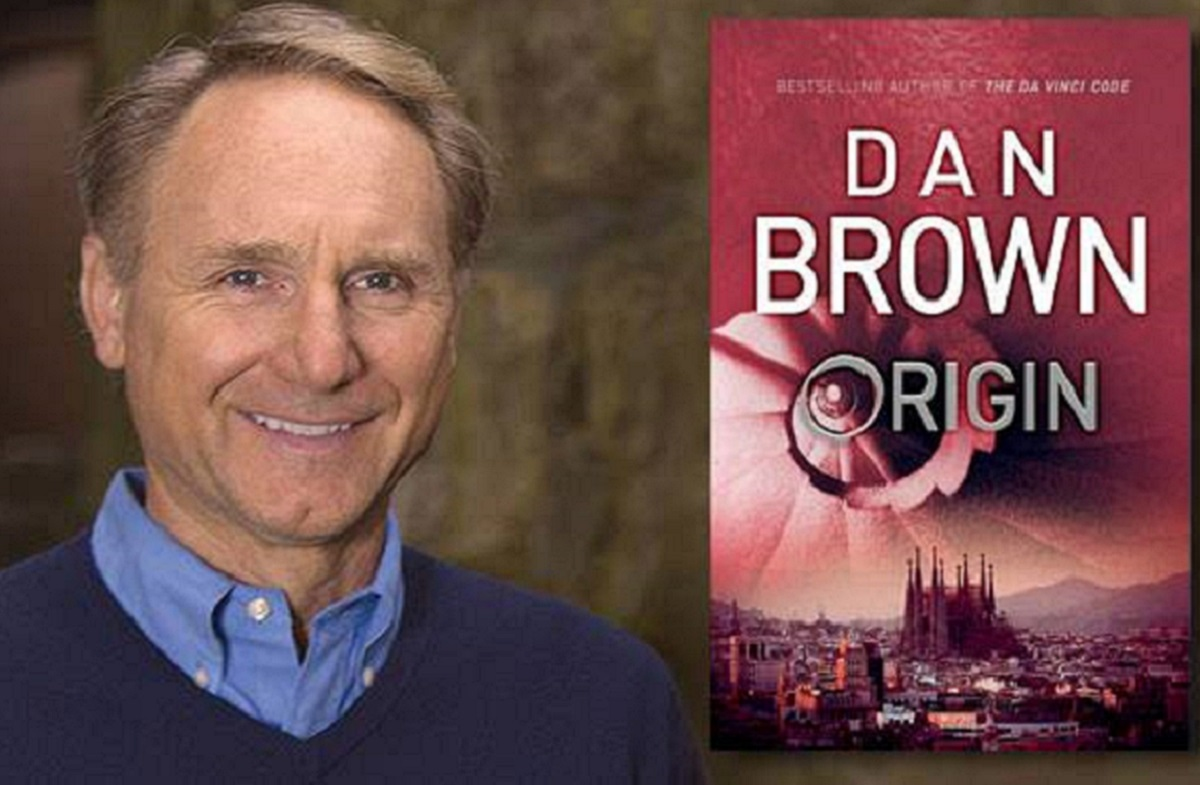 Dan Brown. Photo from author's Facebook page