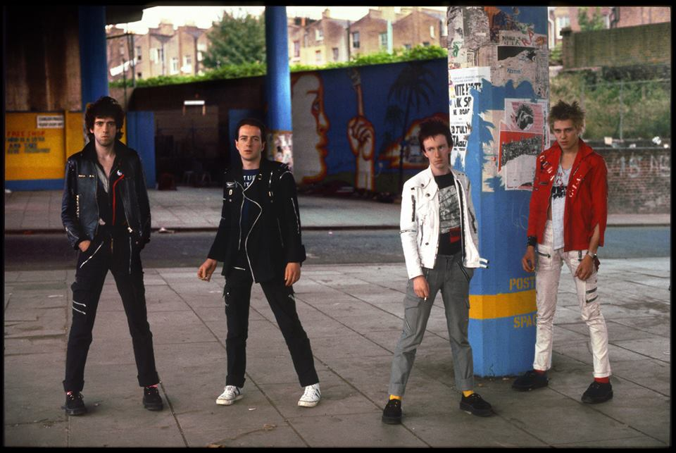 The Clash. Photo from the artist's Facebook page