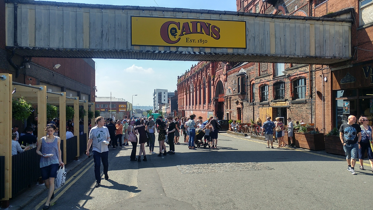 Cains Brewery Village during Sound City 2018