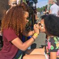 Face Painters at Positive Vibration