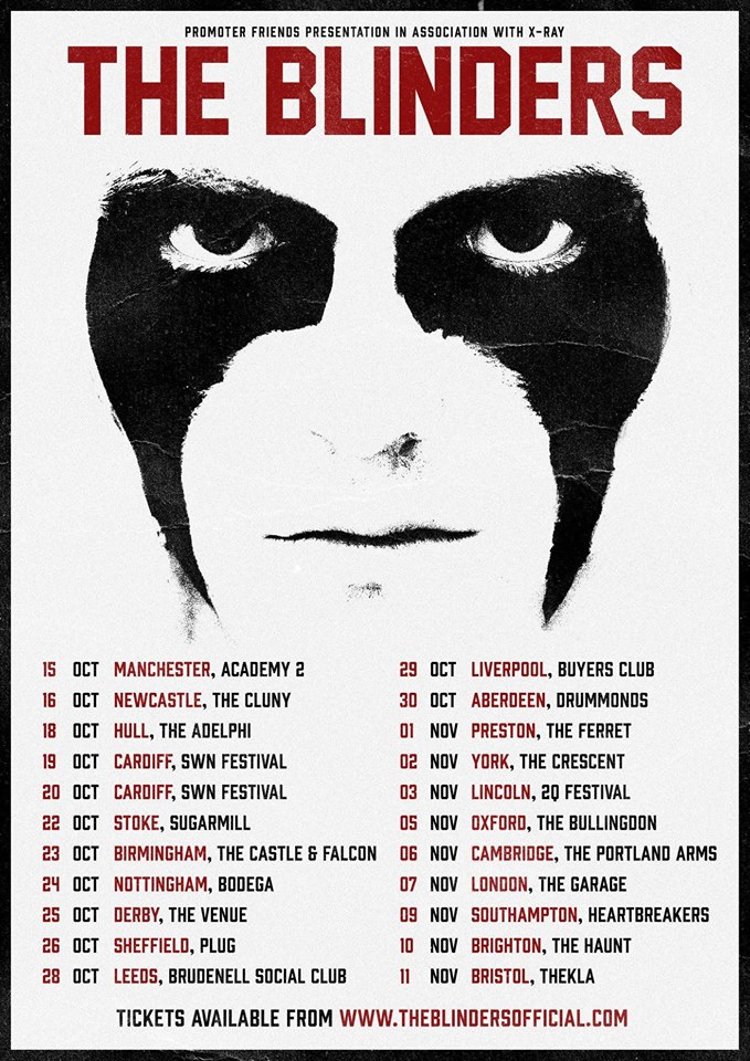 The Blinders UK tour