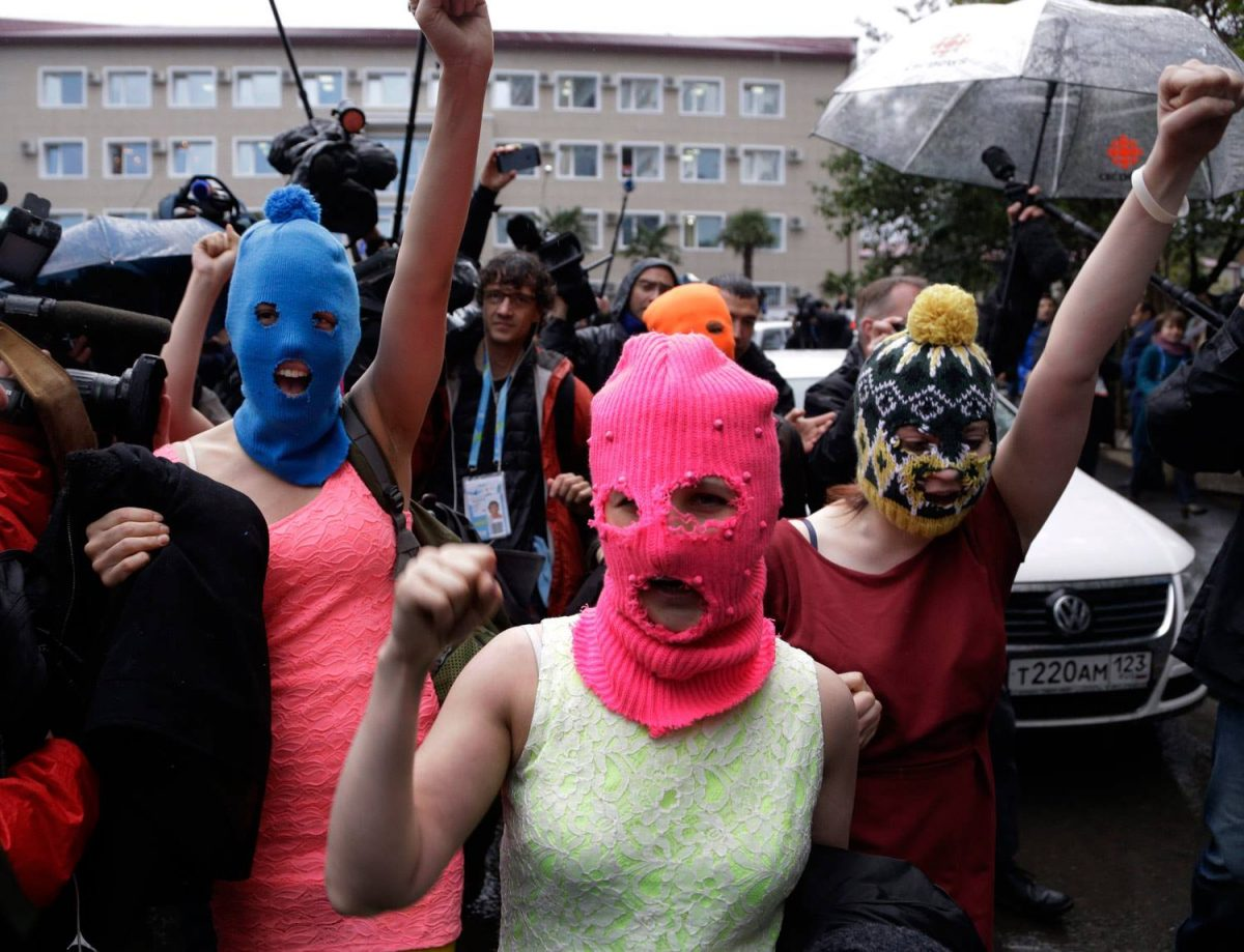 Pussy Riot [image courtesy: artist Facebook]