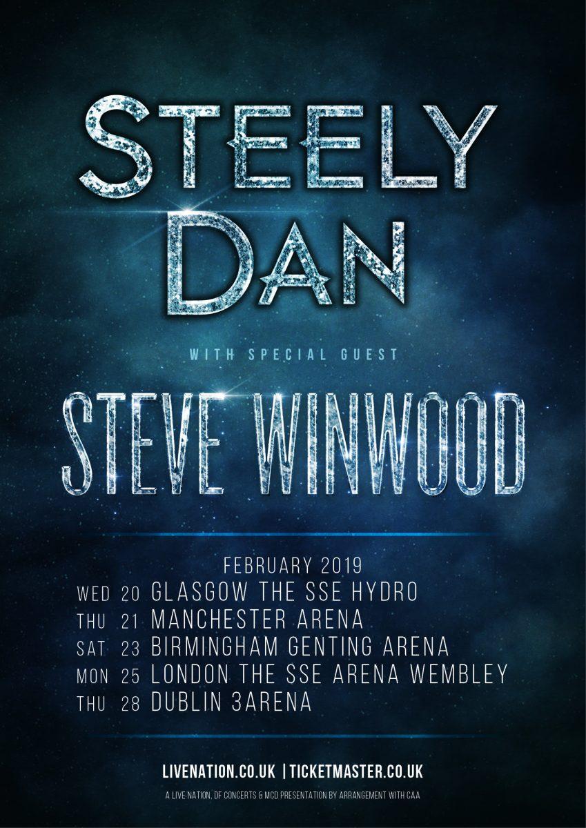 Steely Dan's UK tour 2019