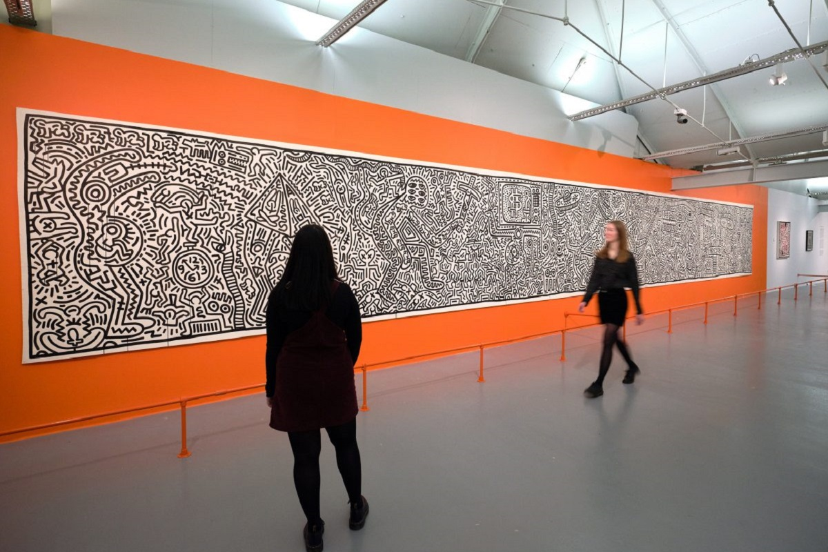 Keith Haring exhibition: TATE Liverpool