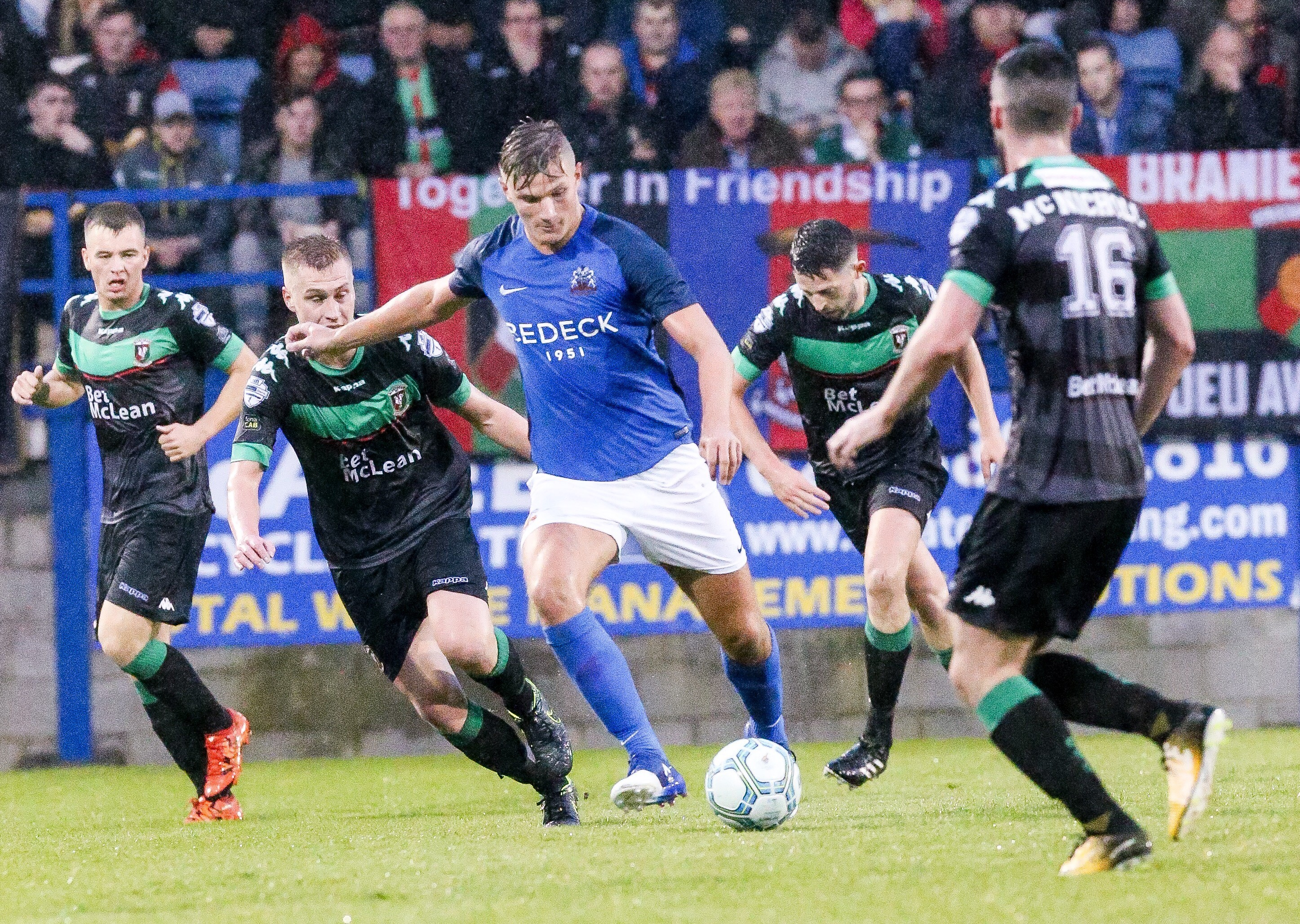 Glenavon Look to Bounce Back Against Glens