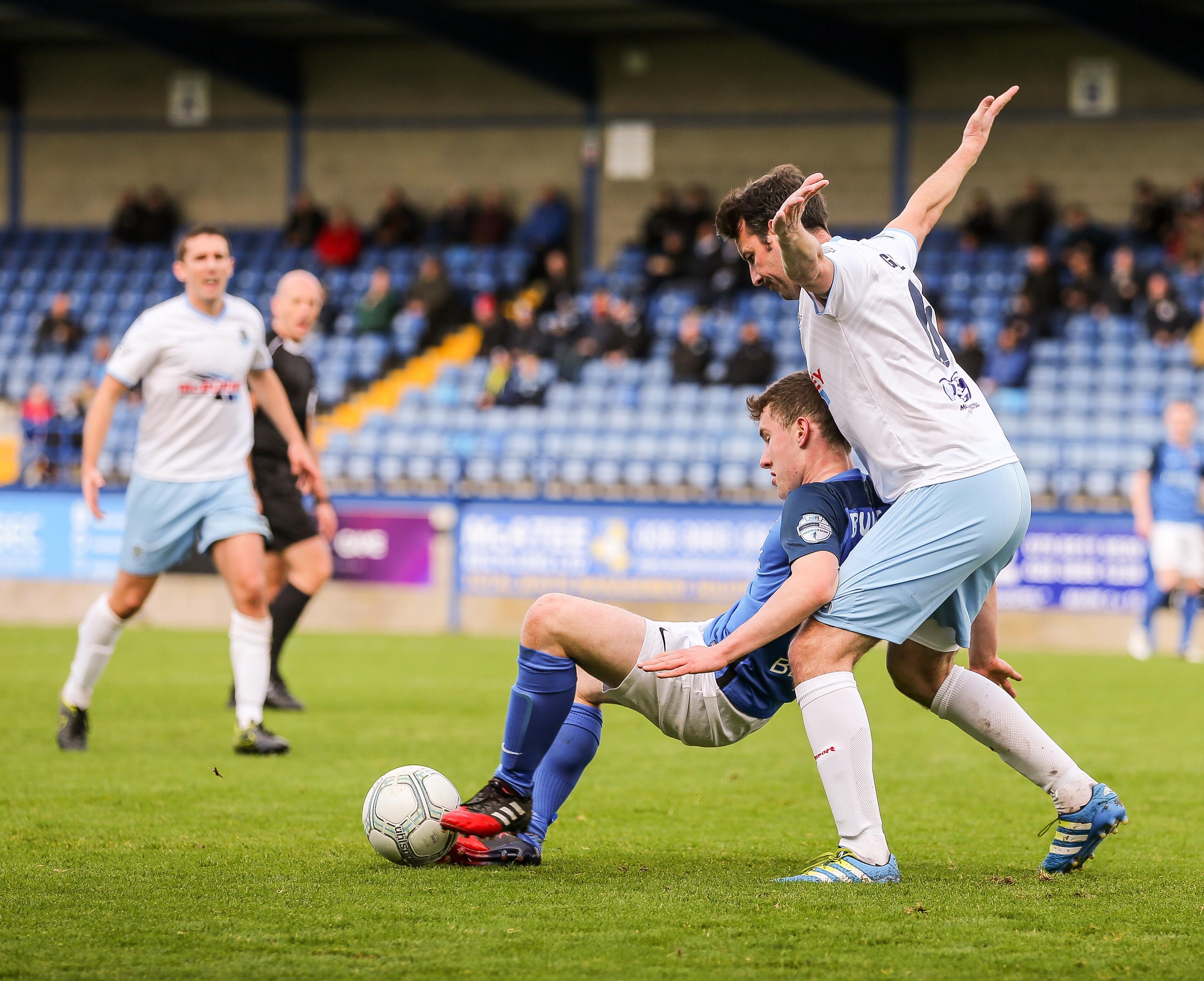 Result: Glenavon 4-0 Ballymena