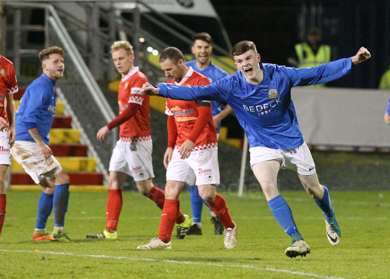 Result: Portadown 1-2 Glenavon