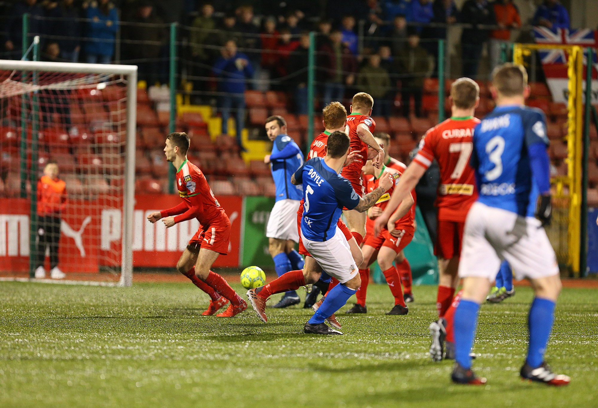 FT: Cliftonville 1-1 Glenavon