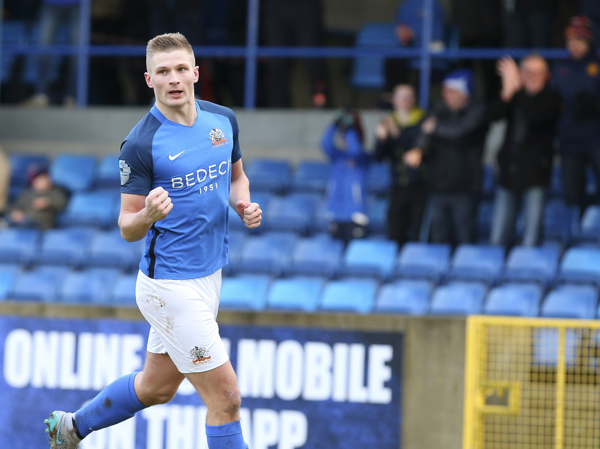 Three and Easy as Glenavon Progress