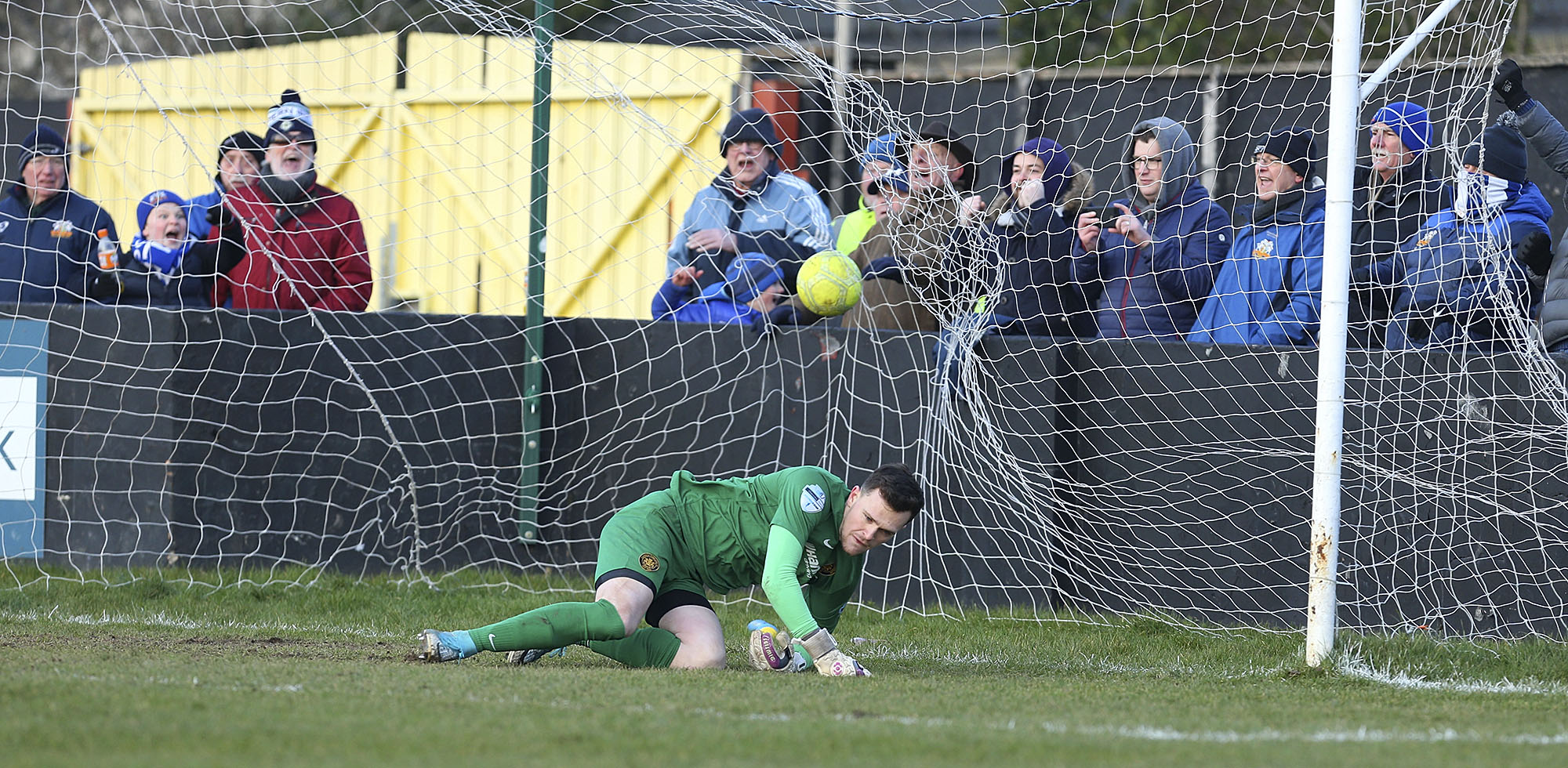 Glenavon Grind Out Win at Carrick
