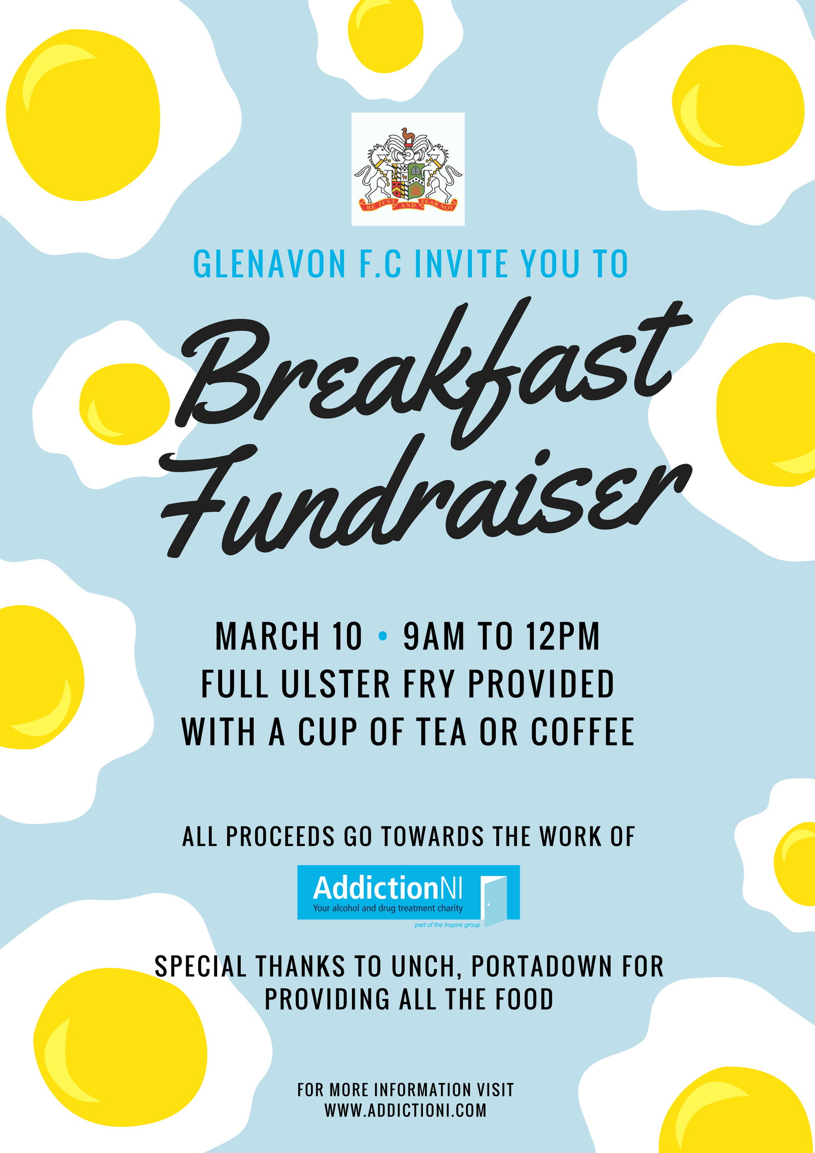 Breakfast Fundraiser this Saturday