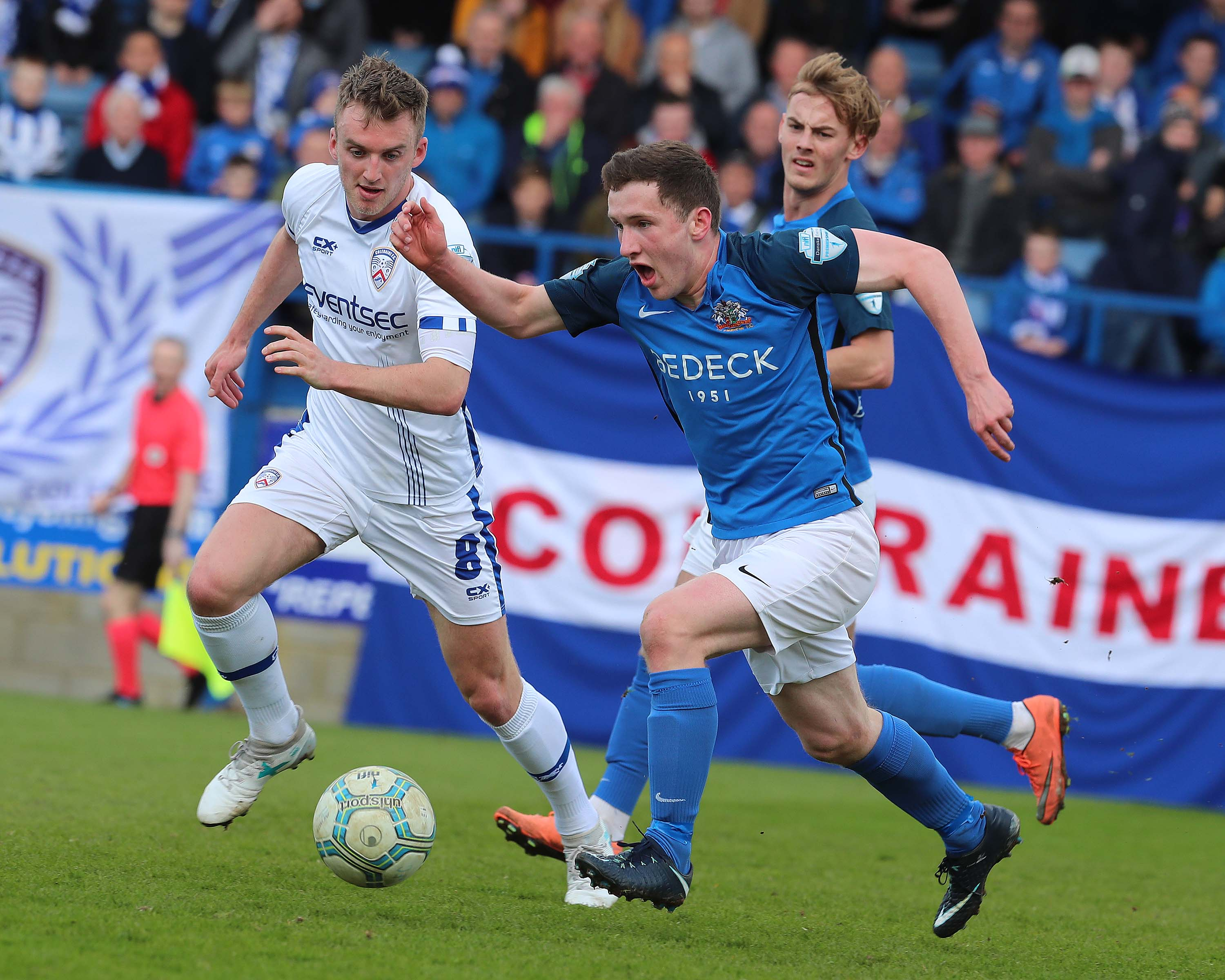 Glenavon Secure Third Place