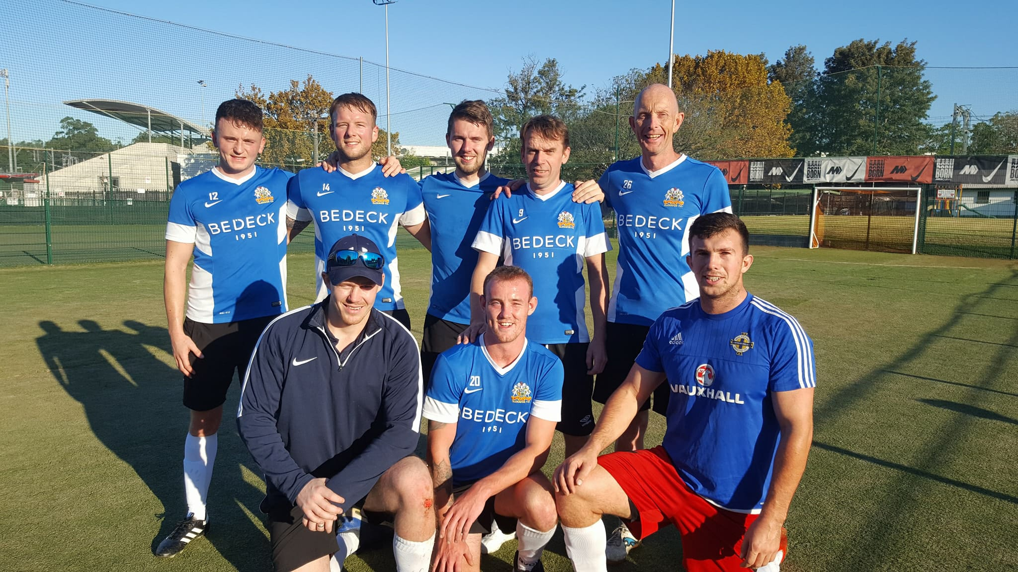 Glenavon FC Represented in Robert Craig Memorial Day, Sydney, Australia