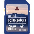 KINGSTON 8GB CLASS4 SDCARD -SD4/8GB