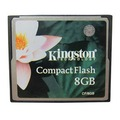 KINGSTON 8GB (CF) COMPACT FLASH