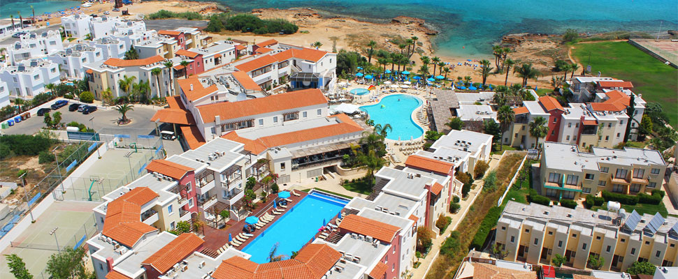 Louis Althea Beach 4 star hotel Protaras - panoramic photo