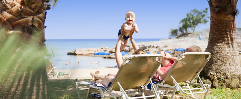 Louis Althea Beach 4 star hotel Protaras - family holidays