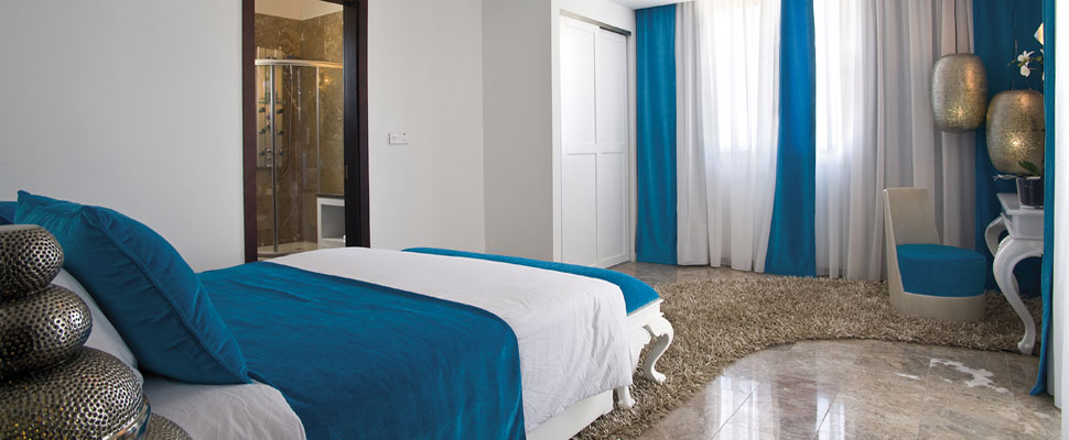 Louis Althea Kalamies Luxury villas in protaras - bedroom