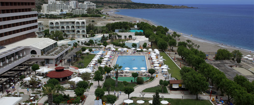Louis Colossos hotel in Rhodes - panoramic