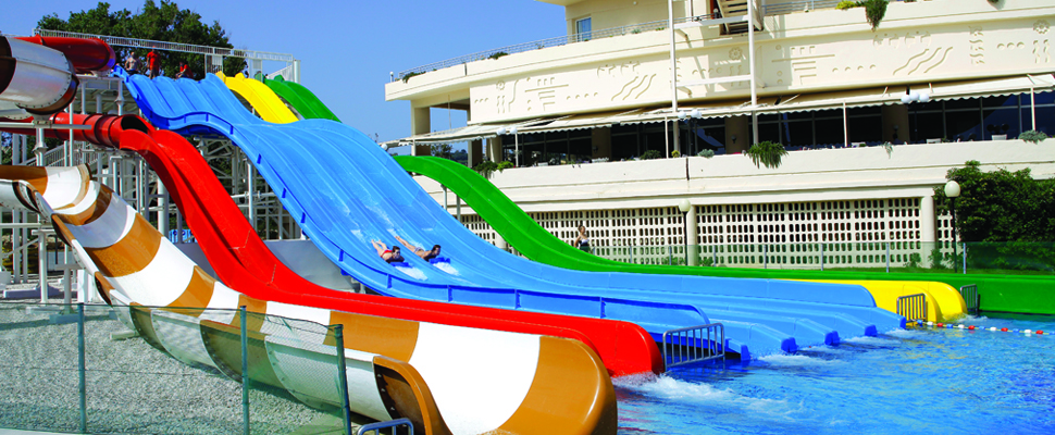 Louis Creta Princess Hotel in Chania, Crete - waterpark