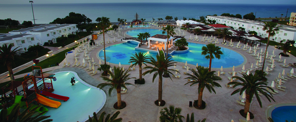 Louis Creta Princess Hotel in Chania, Crete - swimming pools