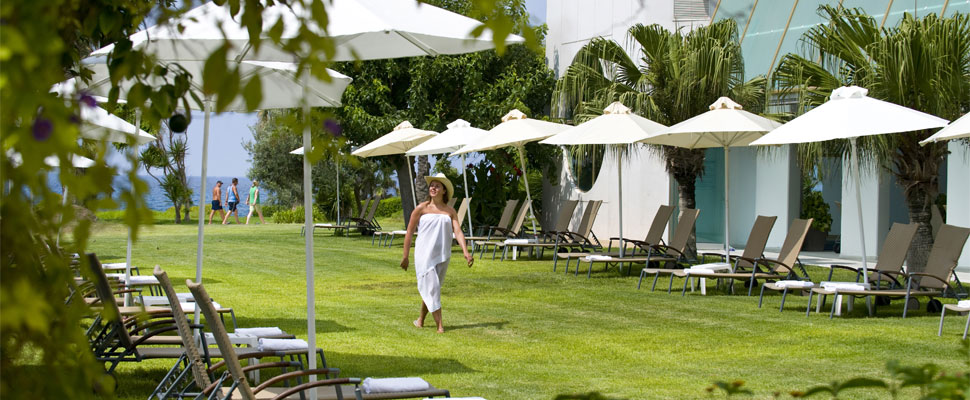 Louis Imperial hotel in paphos - gardens