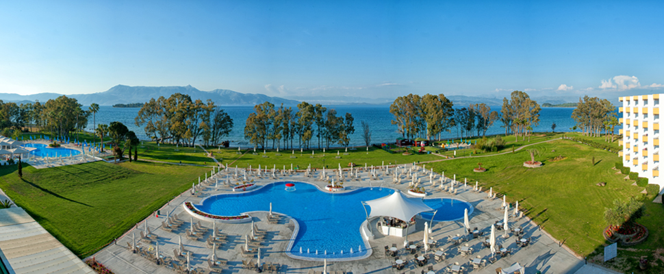 Louis Kerkyra Golf 4 star hotel in Corfu - panoramic