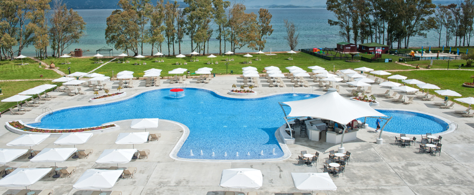 Louis Kerkyra Golf 4 star hotel in Corfu - swimming pool
