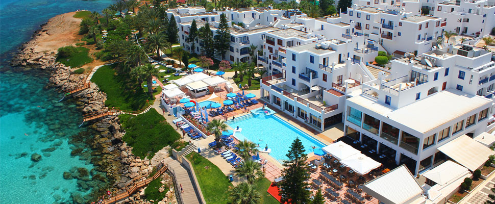 Louis Nausicaa Beach 4 star hotel in Protaras - outdoor