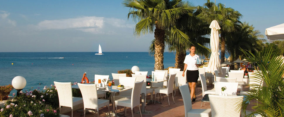 Louis Nausicaa Beach 4 star hotel in Protaras - beach front hotel
