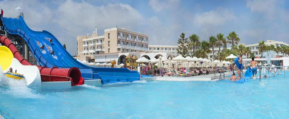 Louis Phaethon beach hotel in paphos - waterpark
