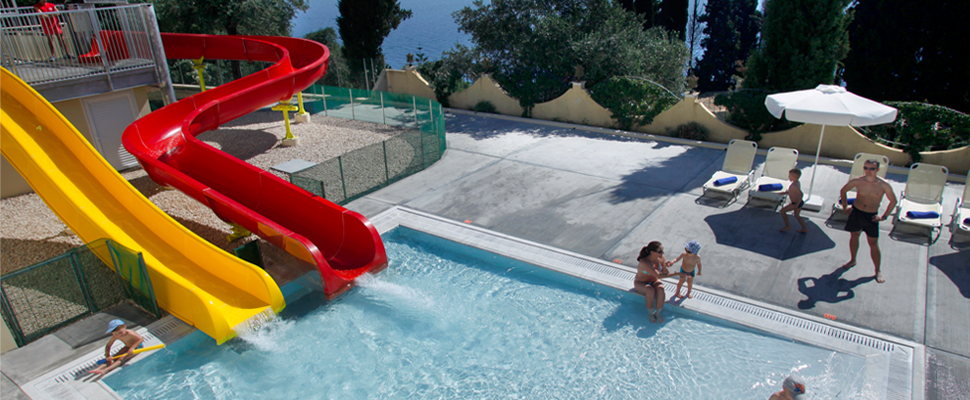 Primasol Louis Ionian sun hotel in Corfu - children pool