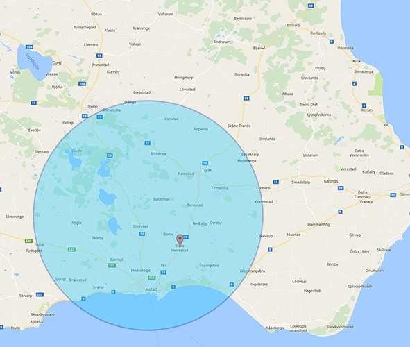 Bli synlig på Google i Ystad med omnejd