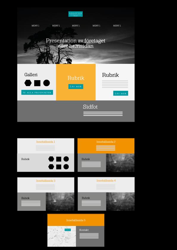 Vi har skapat en lösning för dig som behöver en enkel och funktionell hemsida