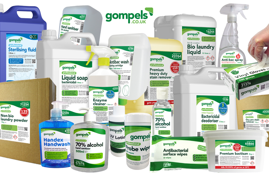 Gompels own branded products