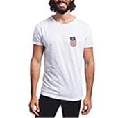 T-Shirt Uomo Cotone Fiammato