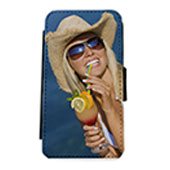 Flip Cover a Libro iPhone 5/5S