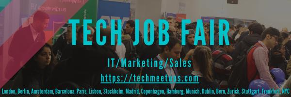 Tech Job Fairs by Techmeetups