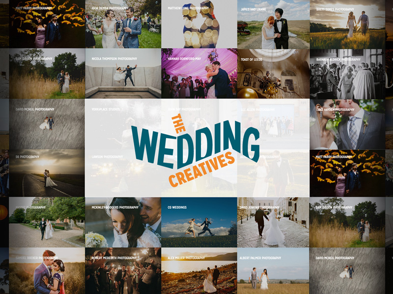 WordPress Website Design Manchester - Websites for Photographers - The Wedding Creatives Website Design