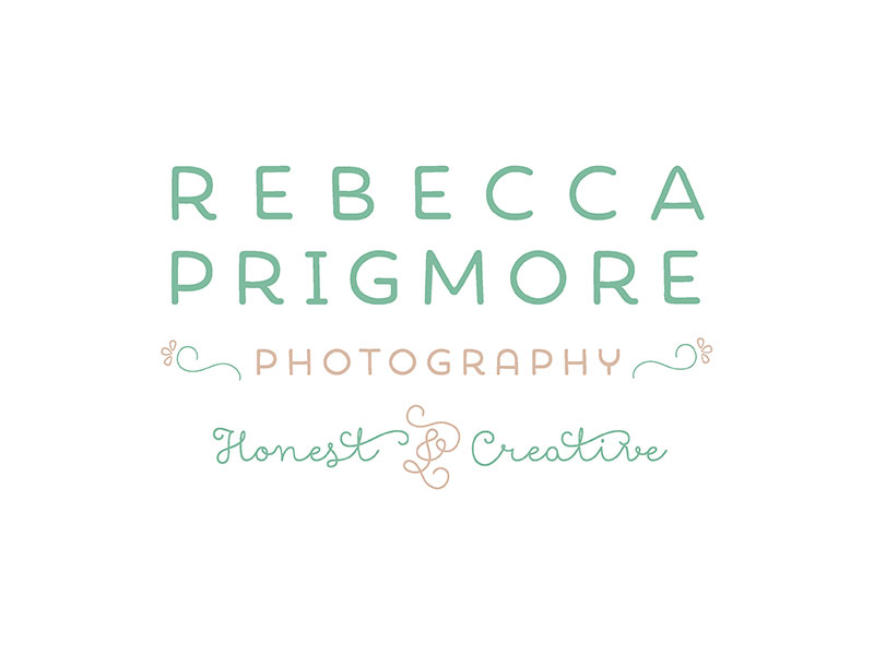 Photographers Logo Design for Rebecca Prigmore Photography - Website Design for Photographers by Manchester Creatives