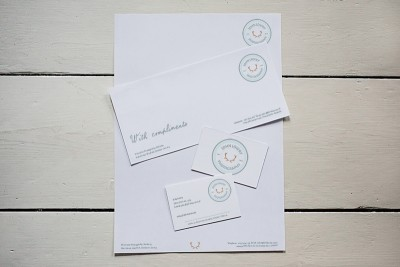 Stationery kits for photography businesses