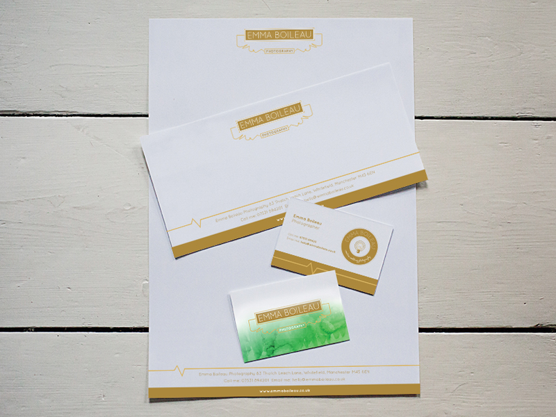 Photographers stationery
